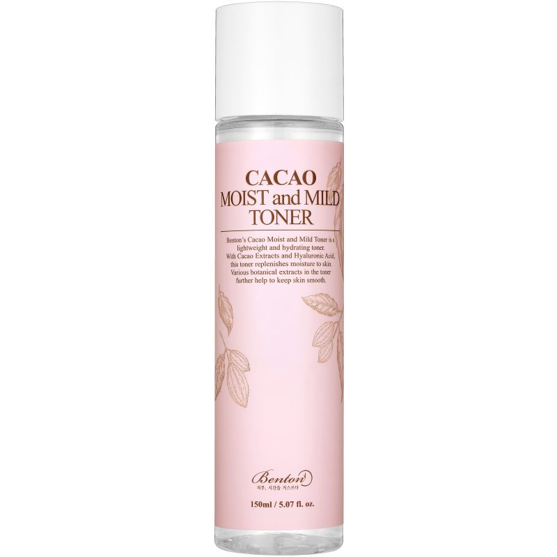 Benton Cacao Moist and Mild Toner (150ml) ryhmässä K-Beauty / Korealainen ihonhoitorutiini / 4. Kasvovesi at Bangerhead.fi (B048183)