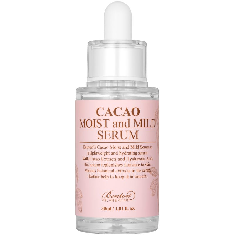 Benton Cacao Moist and Mild Serum (30ml) ryhmässä K-Beauty / Korealainen ihonhoitorutiini / 6. Seerumi at Bangerhead.fi (B048184)