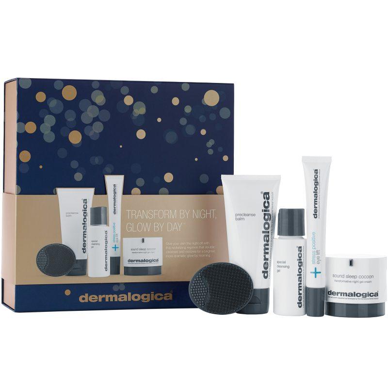 Dermalogica Transform By Night, Glow By Day ryhmässä Ihonhoito / Lahjapakkaukset & setit / Aloituspakkaukset  at Bangerhead.fi (B048282)