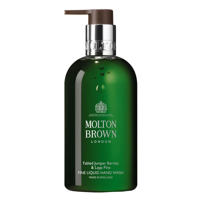 Molton Brown Fabled Juniper Berries & Lapp Pine Fine Liquid Hand Wash (300ml) i gruppen Kroppsvård / Handvård & fotvård / Handtvål hos Bangerhead (B048442)