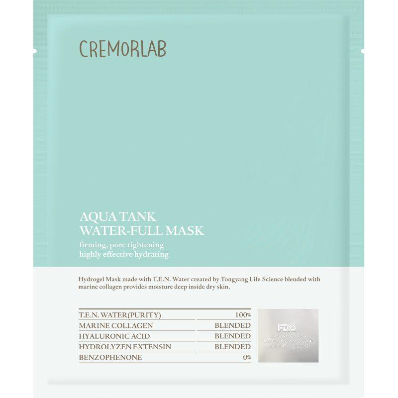 Cremorlab Aqua Tank Water-Full Mask i gruppen Hudpleie / K-Beauty Hudpleie / Ansiktsmaske hos Bangerhead.no (B048547)