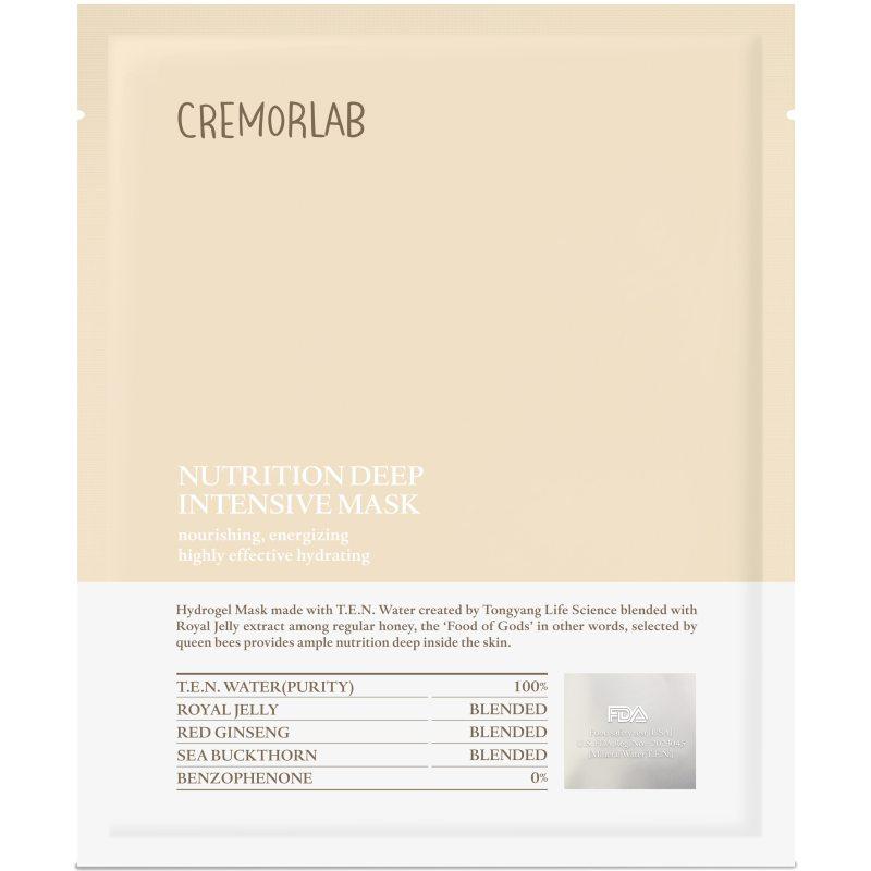 Cremorlab Nutrition Deep Intensive Mask  ryhmässä K-Beauty / Korealainen ihonhoitorutiini / 7. Kangasnaamio at Bangerhead.fi (B048548)