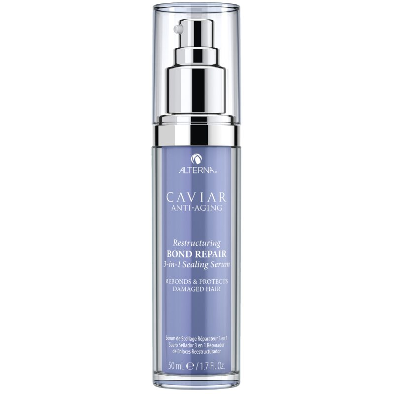 Alterna Caviar Anti-Aging Restructuring Bond Repair 3-In-1 Sealing Serum (50ml) ryhmässä Hiustenhoito / Hiusnaamiot ja hoitotuotteet / Seerumit at Bangerhead.fi (B048574)