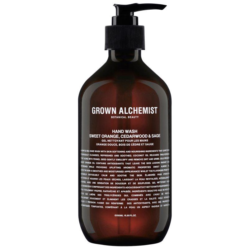 Grown Alchemist Hand Wash Sweet Orange. Cedarwood & Sage i gruppen Kroppsvård & spa / Händer & fötter / Handtvål hos Bangerhead (B048676r)