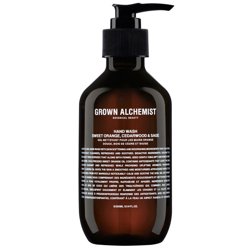 Grown Alchemist Hand Wash Sweet Orange. Cedarwood & Sage (300ml) i gruppen Kroppsvård & spa / Händer & fötter / Handtvål hos Bangerhead (B048676)