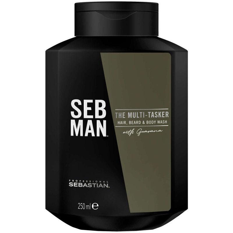 Sebastian Professional Man The Multi-Tasker (250ml) ryhmässä Miehet / Hiustenhoito miehille / Shampoot miehille at Bangerhead.fi (B048779)
