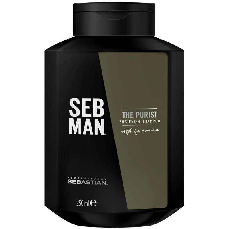 Sebastian Professional Man The Purist (250ml) ryhmässä Miehet / Hiustenhoito miehille / Shampoot miehille at Bangerhead.fi (B048780)