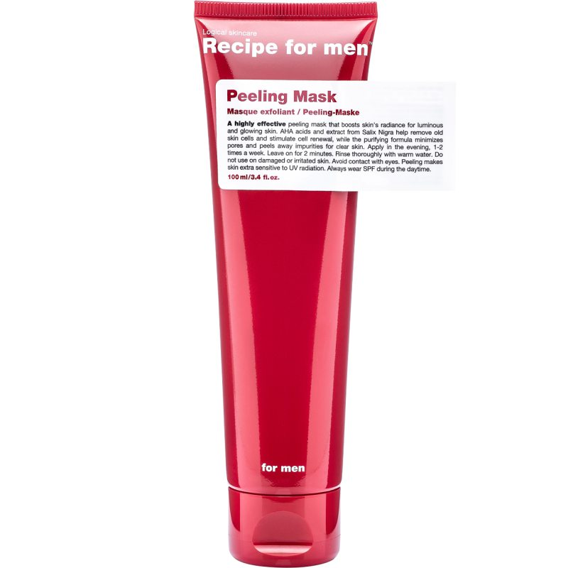 Recipe For Men Peeling Mask (100ml) i gruppen Mann / Hudpleie  for menn / Serum & treatments hos Bangerhead.no (B048851)