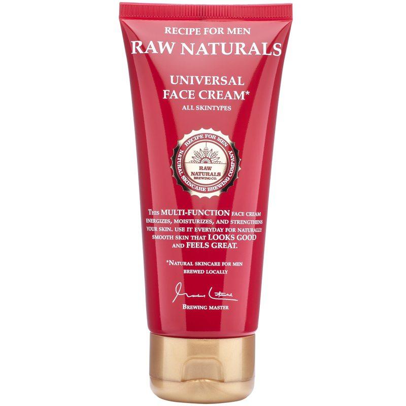 Raw Naturals Universal Face Cream (100ml) ryhmässä Miehet / Ihonhoito miehille / Kasvovoiteet miehille at Bangerhead.fi (B048869)