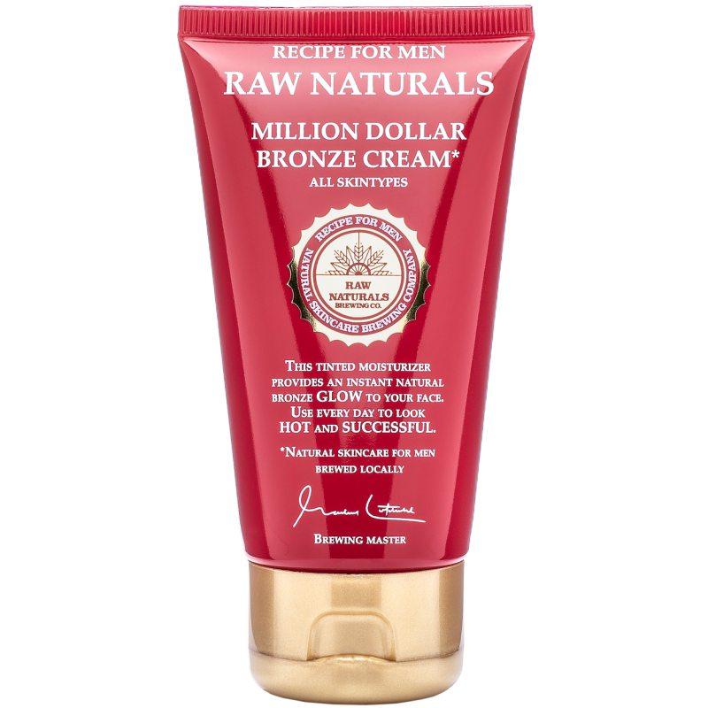 Raw Naturals Million Dollar Bronze Cream (75ml) ryhmässä Miehet / Ihonhoito miehille / Kasvovoiteet miehille at Bangerhead.fi (B048871)