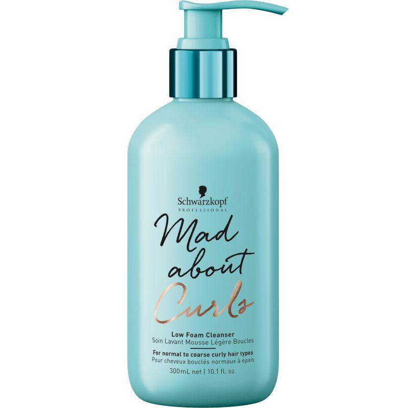 Schwarzkopf Professional Mad About Curls Low Foam Cleanser (300ml) ryhmässä Hiustenhoito / Shampoot & hoitoaineet / Shampoot at Bangerhead.fi (B048996)