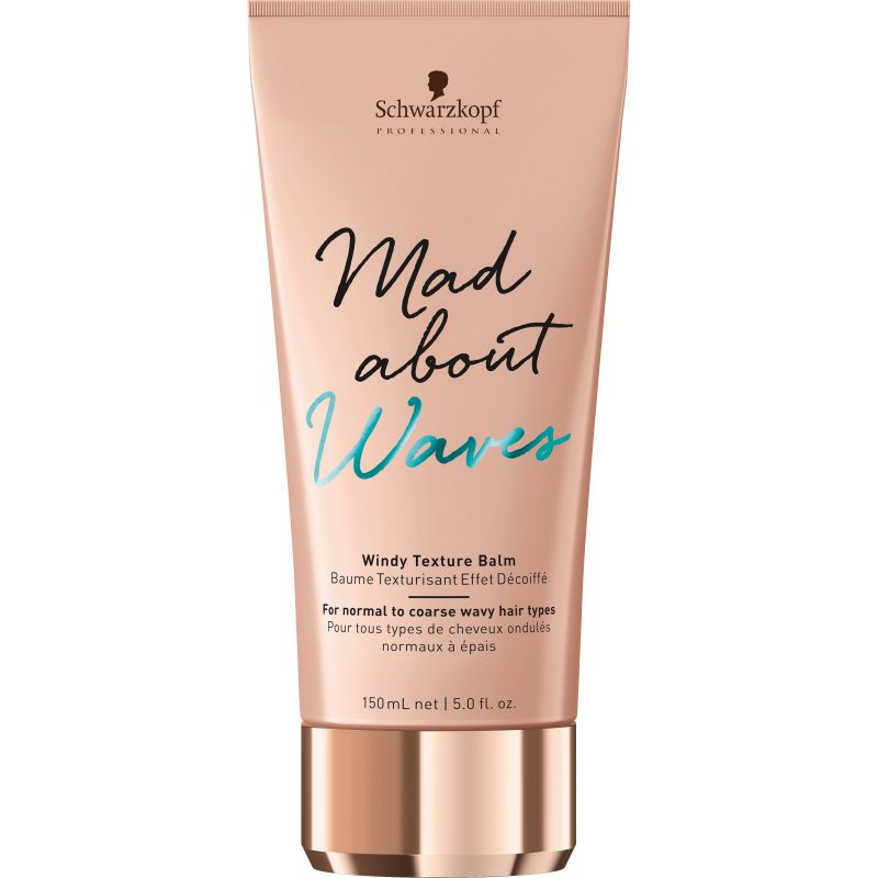 Schwarzkopf Professional Mad About Waves Windy Texture Balm (150ml) i gruppen Hårpleie / Styling / Finishing hos Bangerhead.no (B049006)