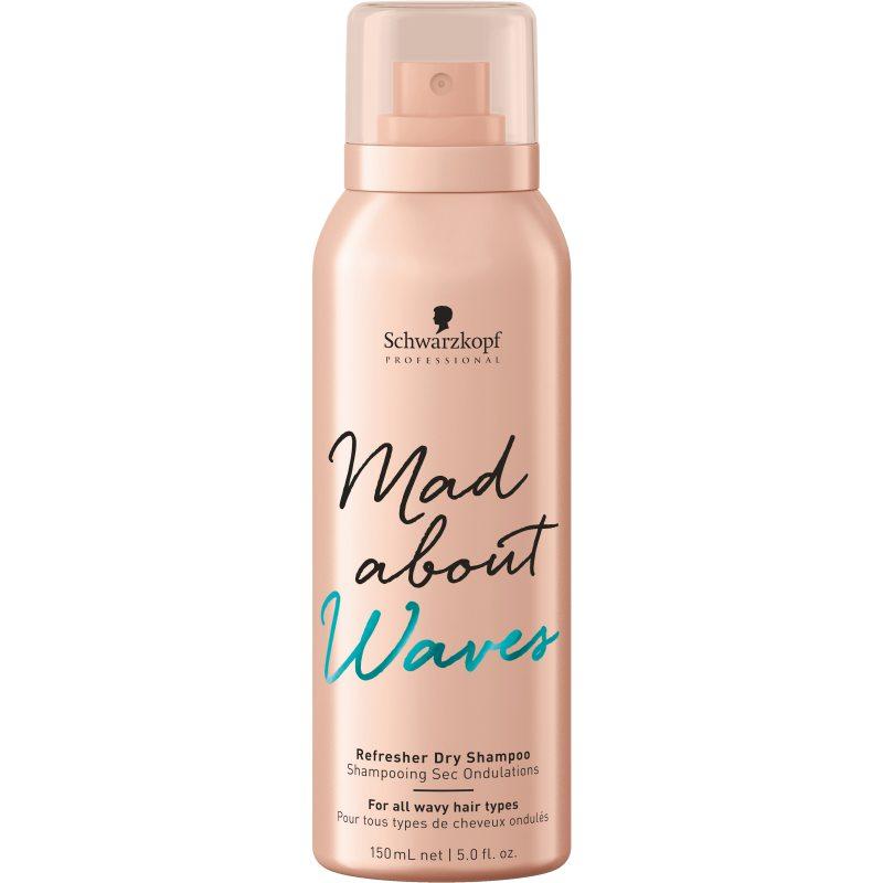 Schwarzkopf Professional Mad About Waves Refresher Dry Shampoo (150ml) ryhmässä Hiustenhoito / Shampoot & hoitoaineet / Kuivashampoot at Bangerhead.fi (B049007)