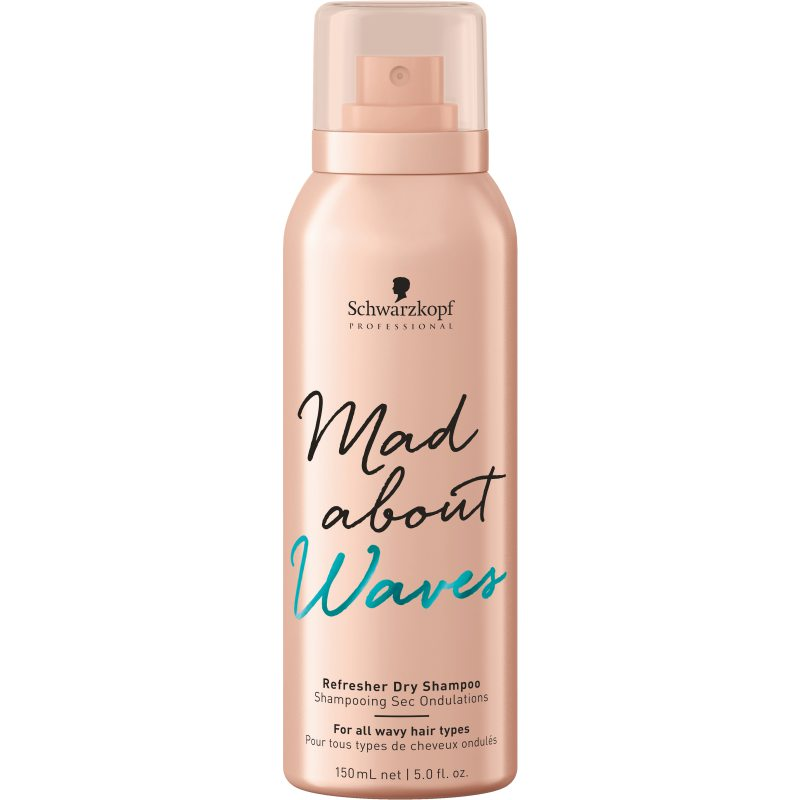 Schwarzkopf Professional Mad About Waves Refresher Dry Shampoo (150ml) ryhmässä Hiustenhoito / Shampoot / Kuivashampoot at Bangerhead.fi (B049007)