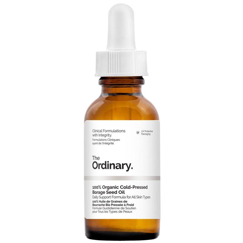 The Ordinary 100% Organic Cold-Pressed Borage Seed Oil (30ml) ryhmässä Ihonhoito / Kasvoseerumit & öljyt / Kasvoöljyt at Bangerhead.fi (B049071)