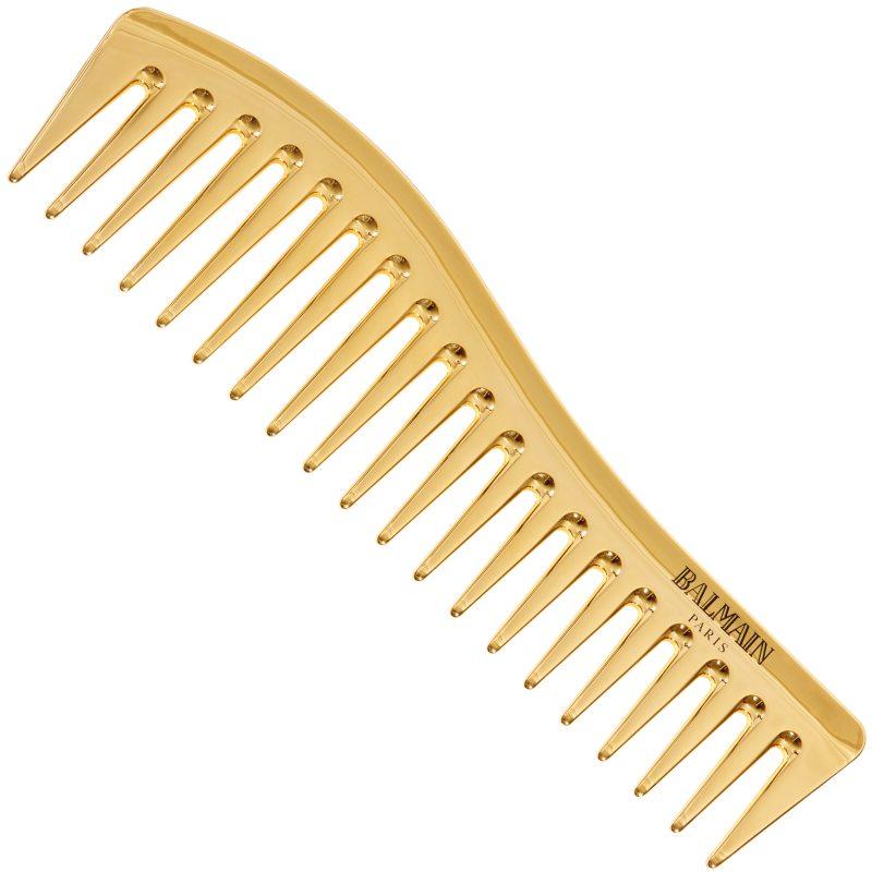 Balmain Golden Styling Comb ryhmässä Hiustenhoito / Hiusharjat & tarvikkeet / Kammat at Bangerhead.fi (B049360)