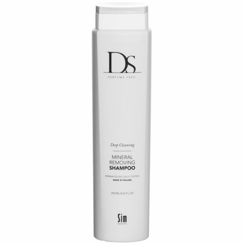 DS SIM Sensitive Mineral Removing Shampoo (250ml) ryhmässä Hiustenhoito / Shampoot / Shampoot at Bangerhead.fi (B049363)