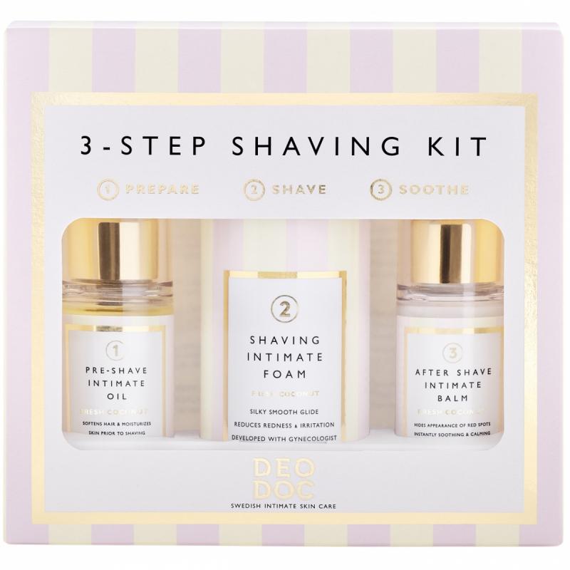 DeoDoc 3-Step Shaving Kit i gruppen Kampanjer / Våra mellandagsfavoriter hos Bangerhead (B049382)