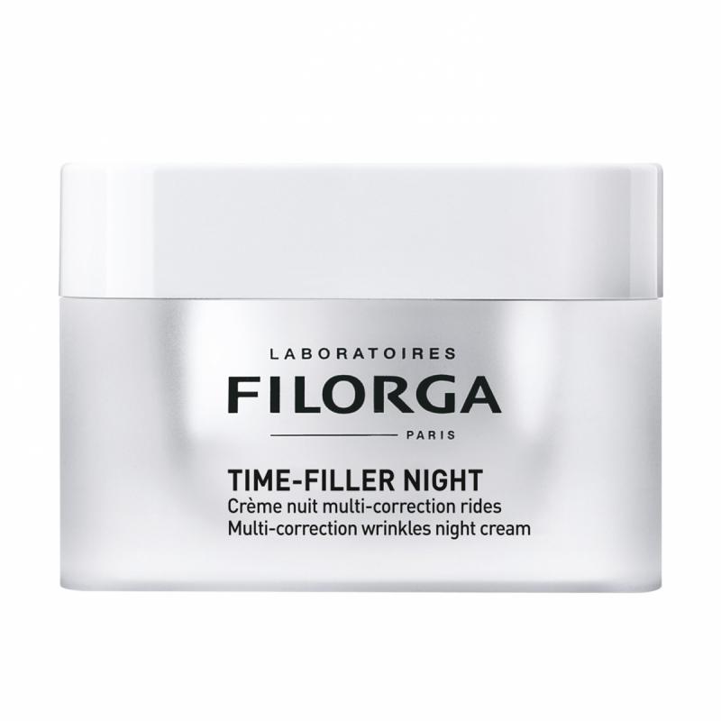 Filorga Time-Filler Night Cream (50ml) ryhmässä Ihonhoito / Kosteusvoiteet / Yövoiteet at Bangerhead.fi (B049420)