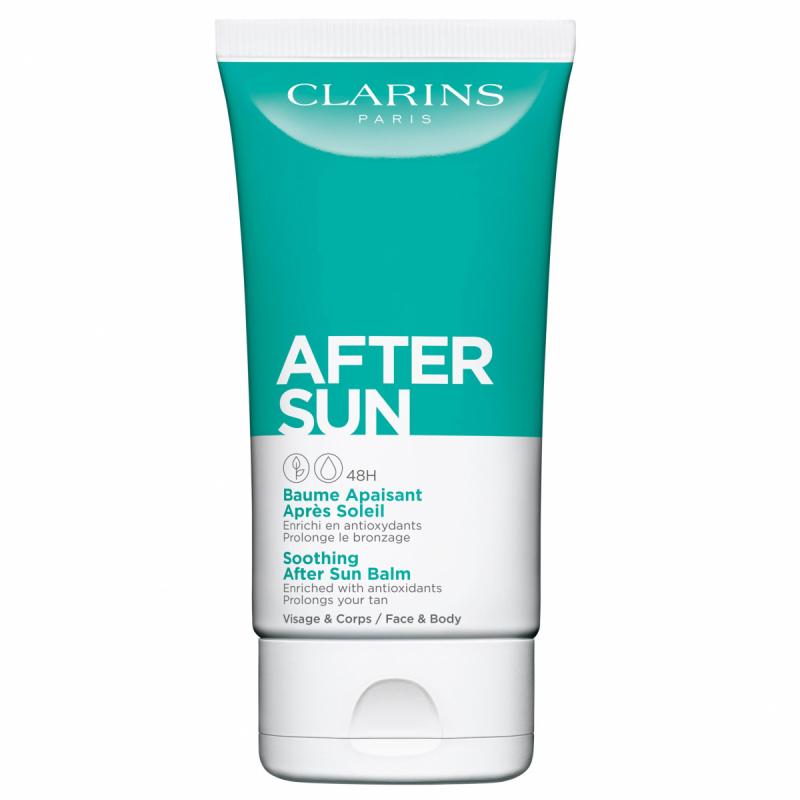 Clarins Soothing After Sun Balm Face & Body (150ml) ryhmässä Vartalonhoito  / Aurinkotuotteet vartalolle / After sun -tuotteet vartalolle at Bangerhead.fi (B049443)