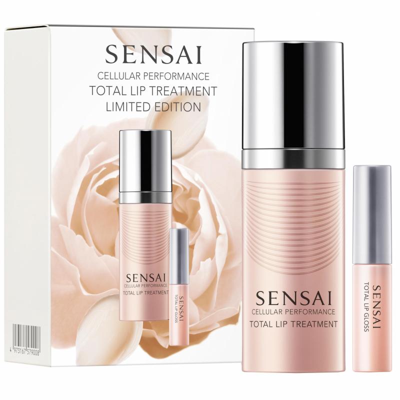 Sensai Cellular Performance Total Lip Treatment Limited Set i gruppen Hudvård / Gift set & kits / Gift sets hos Bangerhead (B049450)