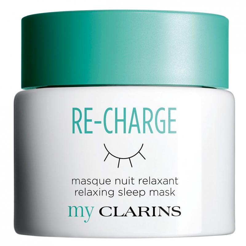 Clarins My Clarins Re-Charge Relaxing Sleep Mask (50ml) i gruppen Hudvård / Ansiktsmask / Sovmask hos Bangerhead (B049454)