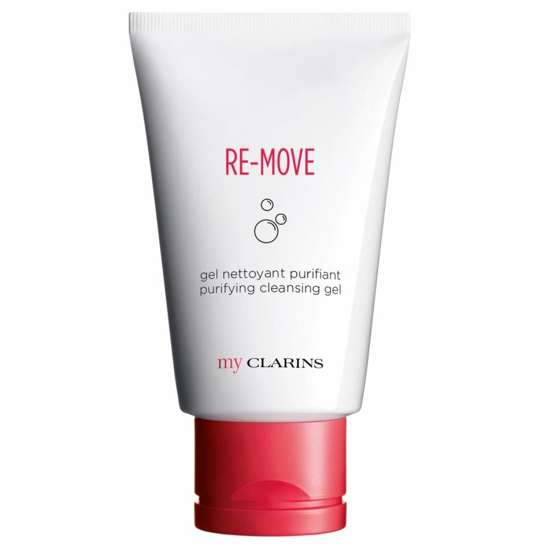 Clarins My Clarins Re-Move Purifying Cleansing Gel (125ml) i gruppen Hudvård / Ansiktsrengöring / Rengöringsgel hos Bangerhead (B049457)