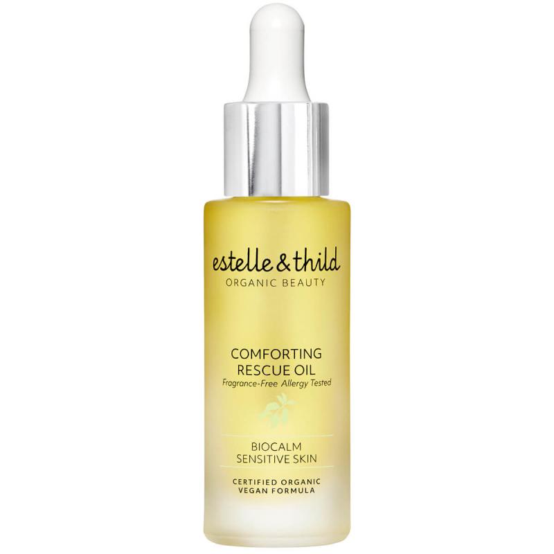 Estelle & Thild BioCalm Comforting Rescue Oil (30ml) i gruppen Hudpleie / Ansiktsserum & olje / Ansiktsolje hos Bangerhead.no (B049565)