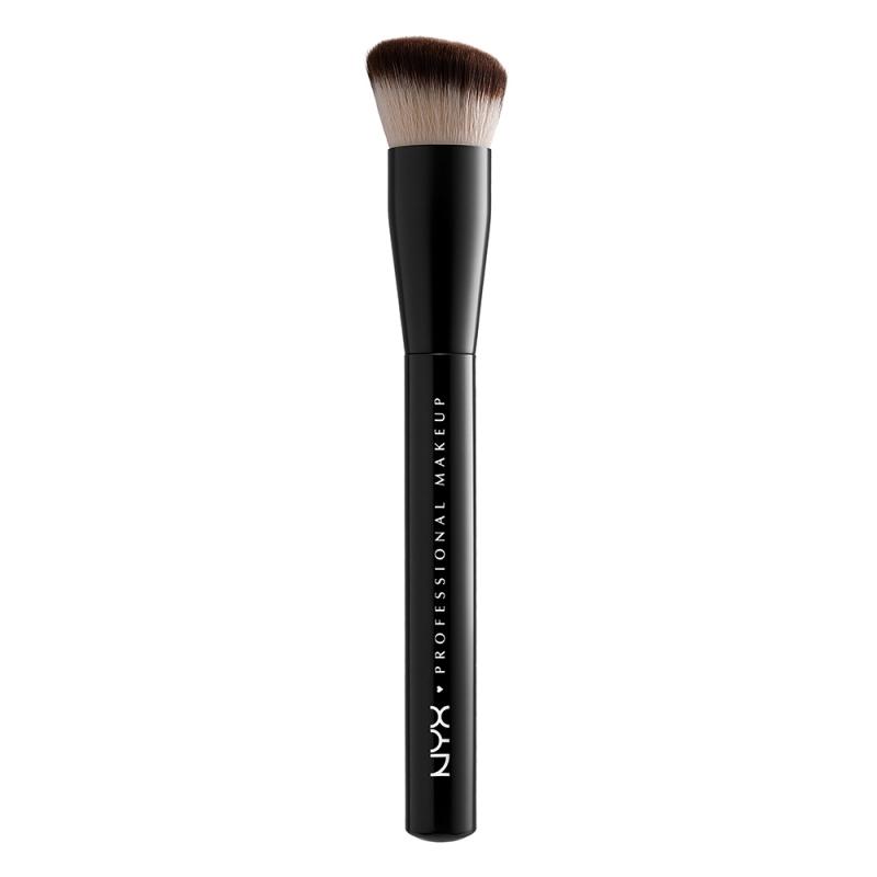 NYX Professional Makeup Cant Stop Wont Stop Foundation Brush ryhmässä Meikit / Siveltimet & tarvikkeet / Kasvomeikkisiveltimet at Bangerhead.fi (B049834)
