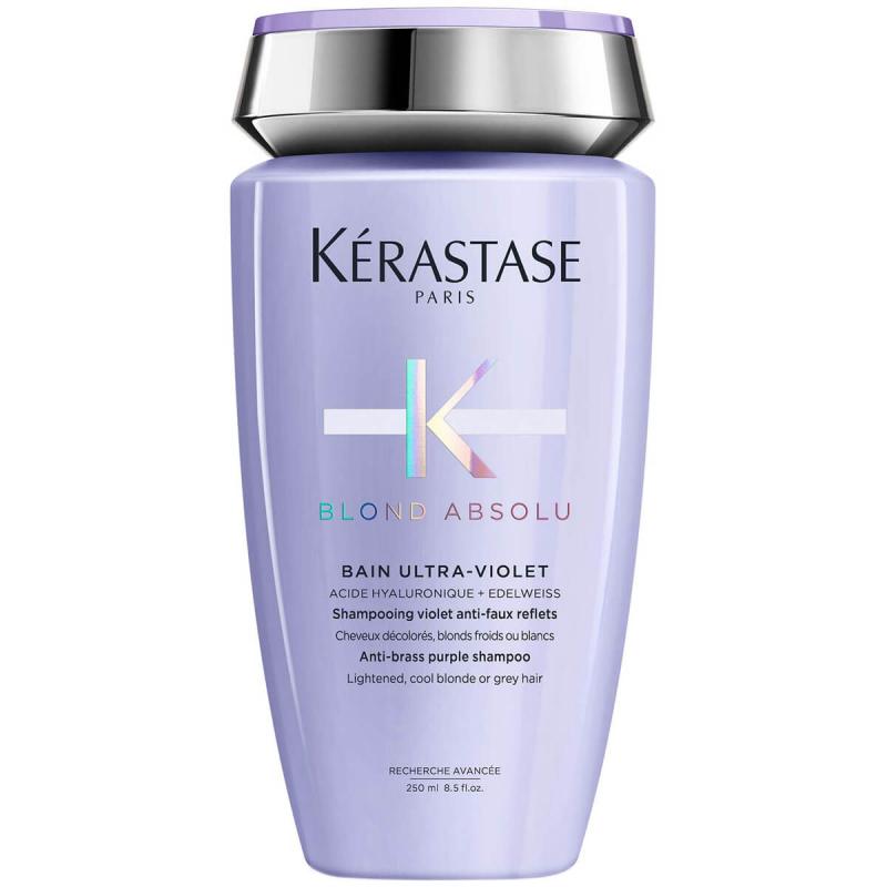 Kérastase Blond Bain Ultra Violet (250ml) ryhmässä Hiustenhoito / Shampoot / Hopeashampoot at Bangerhead.fi (B049882)
