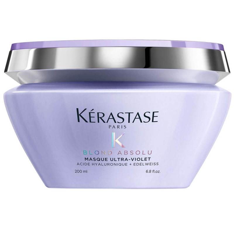 Kerastase Blond Masque Ultra Violet (200ml) i gruppen Hårvård / Inpackning & treatments / Inpackning hos Bangerhead (B049884)