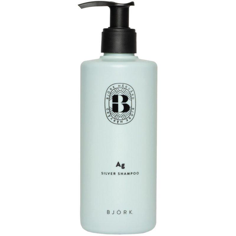 Björk Ag Shampoo (300ml) ryhmässä Hiustenhoito / Shampoot & hoitoaineet / Hopeashampoot at Bangerhead.fi (B050199)