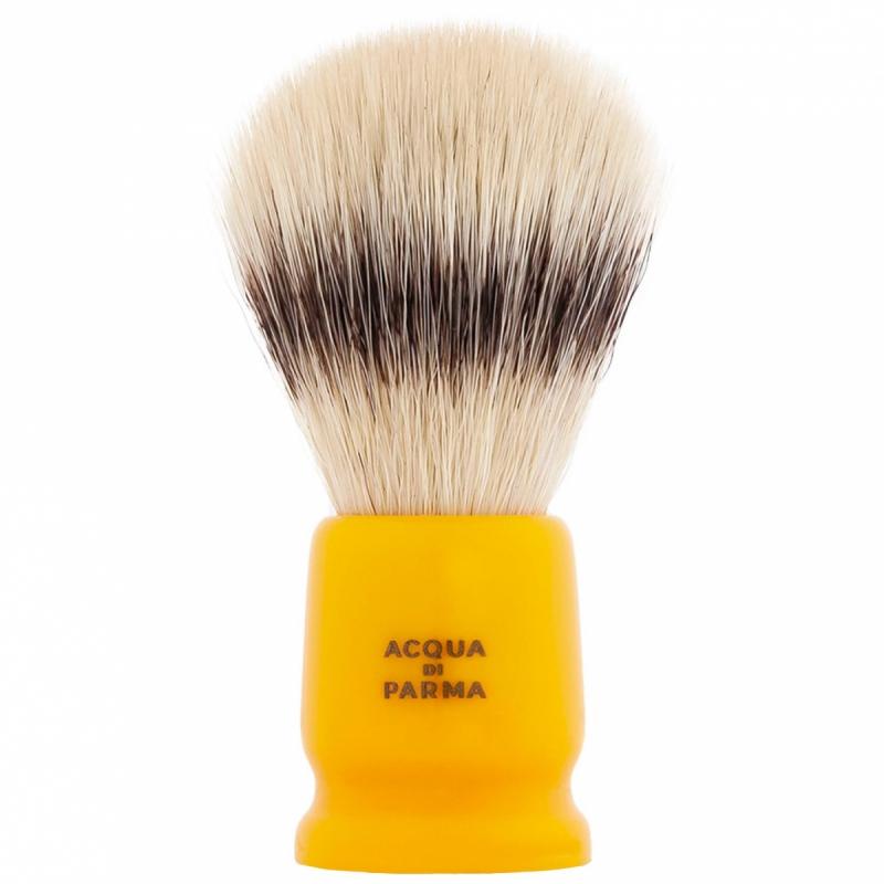Acqua Di Parma Yellow Travel Shaving Brush ryhmässä Miehet / Parranajo & grooming miehille / Partahöylät miehille at Bangerhead.fi (B050393)