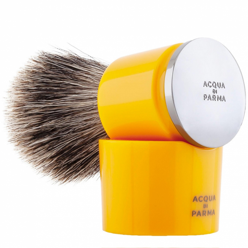 Acqua Di Parma Yellow Badger Shaving Brush i gruppen Mann / Barbering & grooming / Barberhøvler hos Bangerhead.no (B050397)