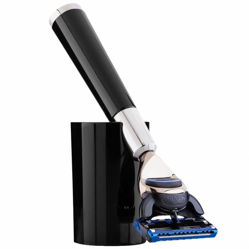Acqua Di Parma Black Shaving Razor i gruppen Man / Rakning & grooming för män / Rakhyvel för män hos Bangerhead (B050398)