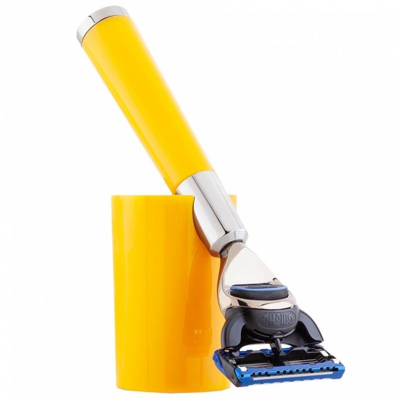 Acqua Di Parma Yellow Shaving Razor i gruppen Man / Barbering / Rakhyvel & rakborste hos Bangerhead (B050399)
