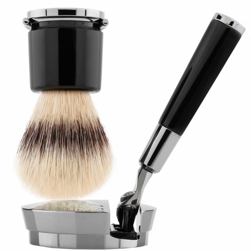 Acqua Di Parma Black Razor and Brush ryhmässä Miehet / Parranajo & grooming miehille / Partahöylät miehille at Bangerhead.fi (B050400)