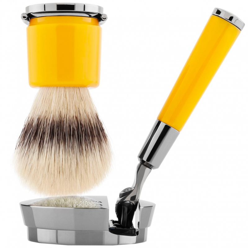 Acqua Di Parma Yellow Razor and Brush ryhmässä Miehet / Parranajo miehille / Partahöylät ja - harjat at Bangerhead.fi (B050401)