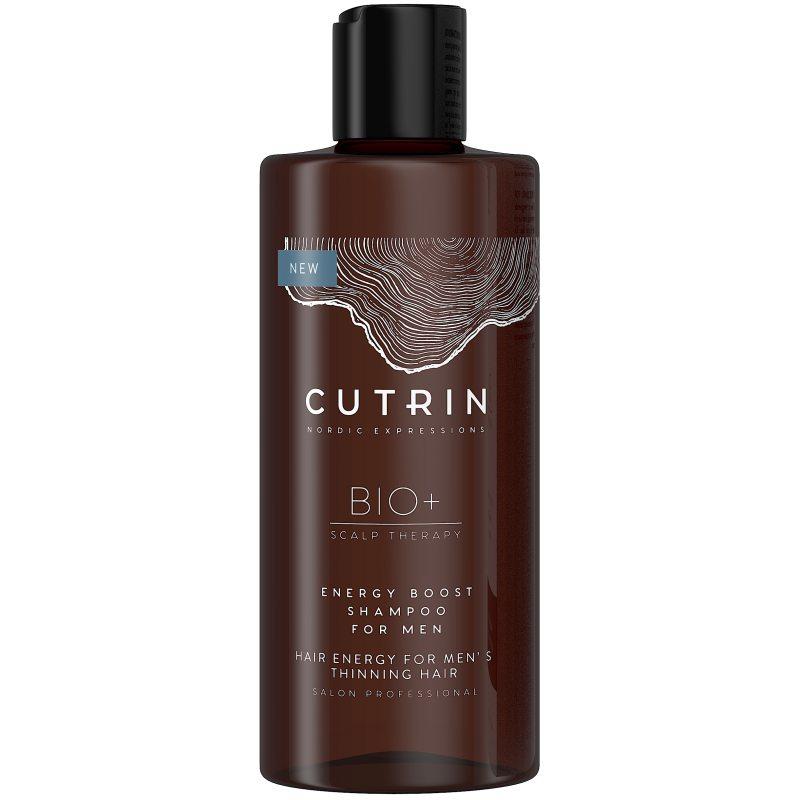 Cutrin Bio+ Energen Boost Shampoo For Men (250ml) ryhmässä Miehet / Hiustenhoito miehille / Shampoot miehille at Bangerhead.fi (B050454)