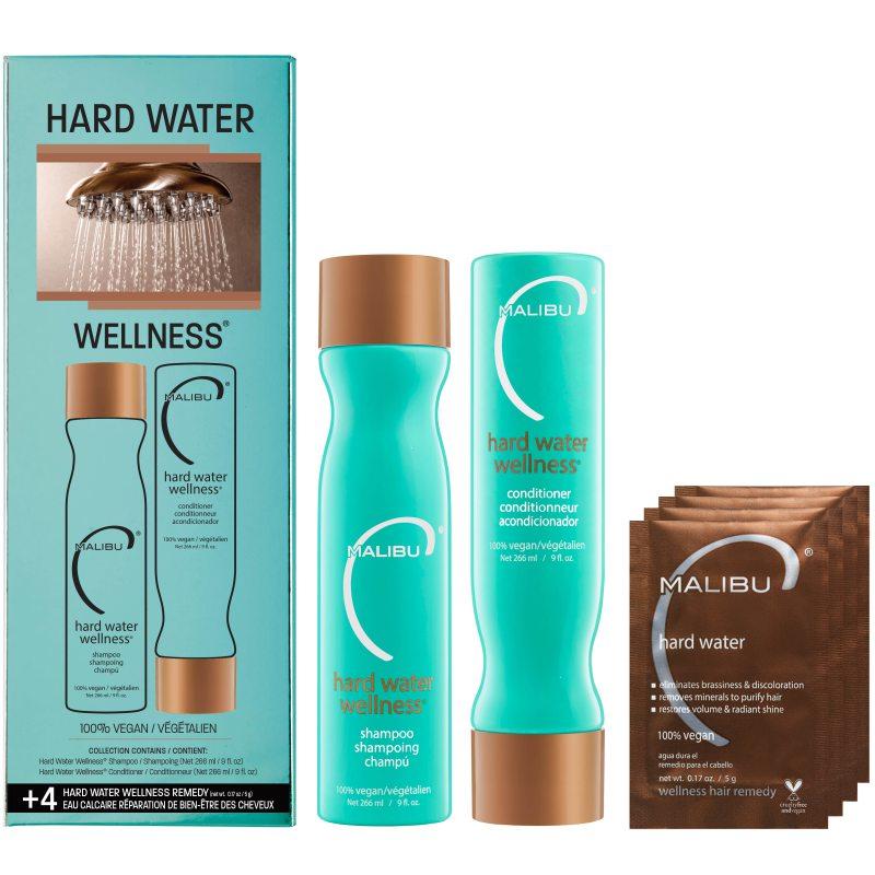 Malibu C Hard Water Collection Kit i gruppen Kampanjer / Våra mellandagsfavoriter hos Bangerhead (B050478)