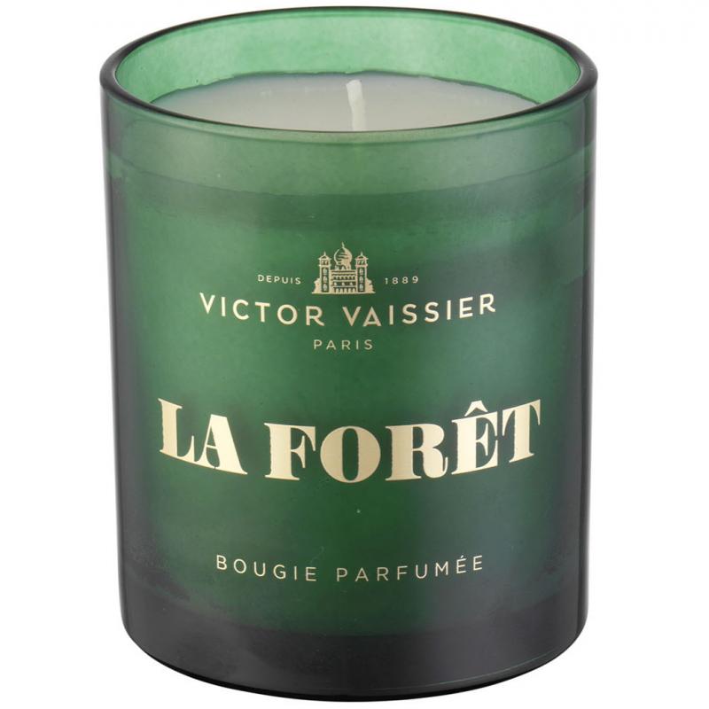 Victor Vaissier Scented Candle La Foret (220g) ryhmässä Vartalonhoito & spa / Koti & Spa / Tuoksukynttilät at Bangerhead.fi (B050516)