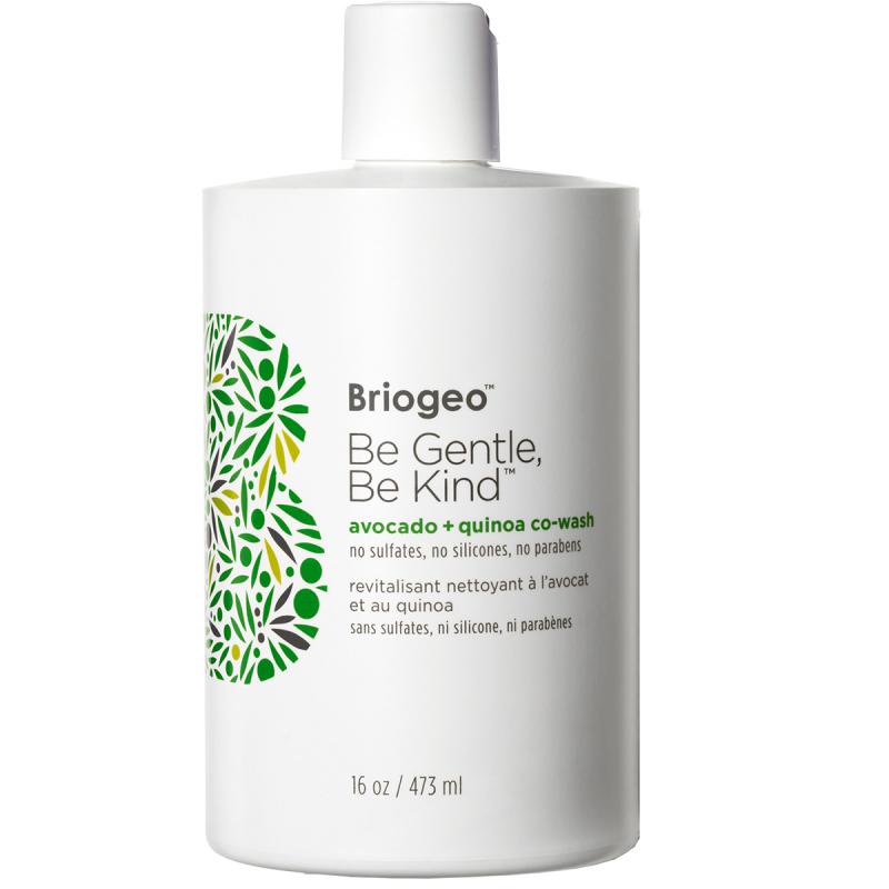 Briogeo Be Gentle Be Kind Avocado + Quinoa Co–Wash (473ml) ryhmässä Hiustenhoito / Shampoot / Shampoot at Bangerhead.fi (B050529)