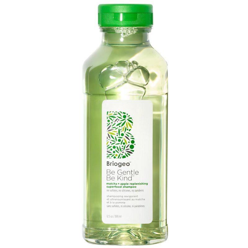 Briogeo Be Gentle Be Kind Matcha + Apple Replenishing Superfood Shampoo (369ml) ryhmässä Hiustenhoito / Shampoot & hoitoaineet / Shampoot at Bangerhead.fi (B050530)