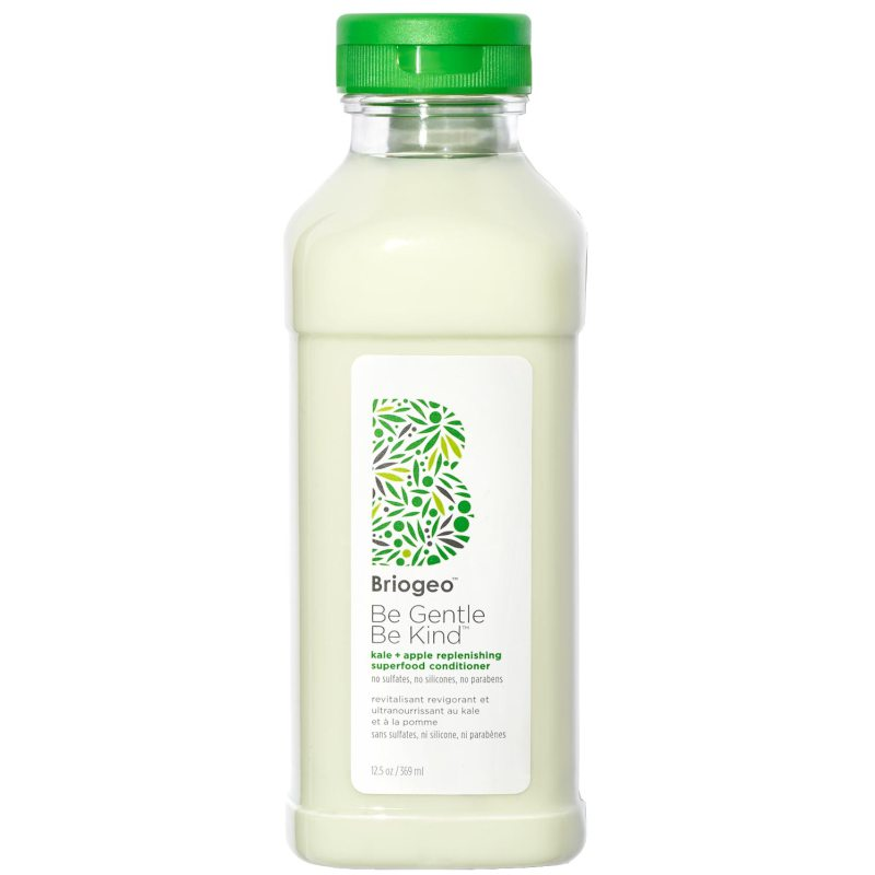 Briogeo Be Gentle Be Kind Kale + Apple Replenishing Superfood Conditioner (369ml) ryhmässä Hiustenhoito / Hoitoaineet / Hoitoaineet at Bangerhead.fi (B050531)