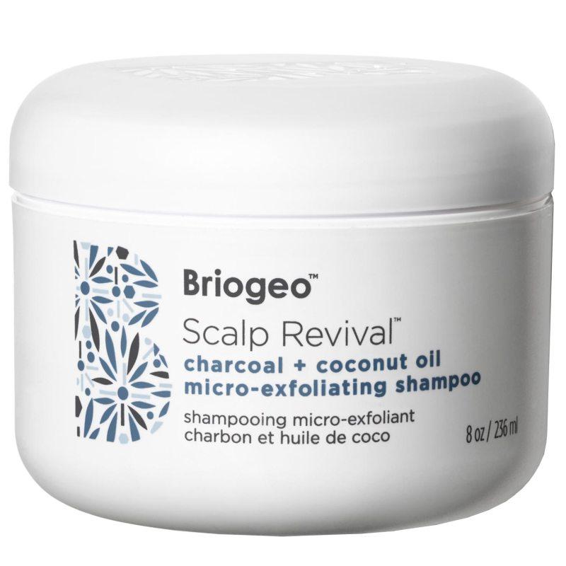Briogeo Scalp Revival Charcoal + Coconut Oil Micro-Exfoliating Shampoo (236ml) ryhmässä Hiustenhoito / Shampoot / Shampoot at Bangerhead.fi (B050540)