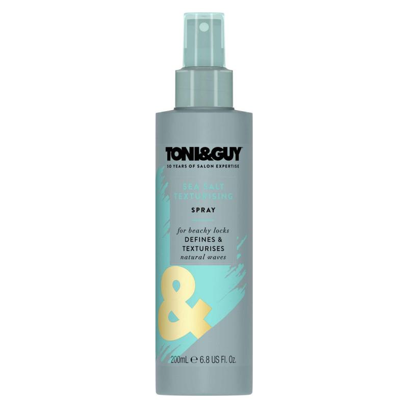 Toni&Guy Sea Salt Texturising Spray (200ml) i gruppen Hårvård / Styling / Saltvattenspray hos Bangerhead (B050562)