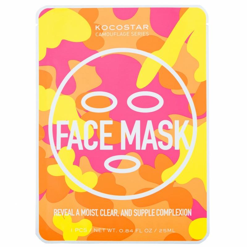 KOCOSTAR Camouflage Face Mask ryhmässä Ihonhoito / Kasvonaamiot / Kangasnaamiot at Bangerhead.fi (B050588)