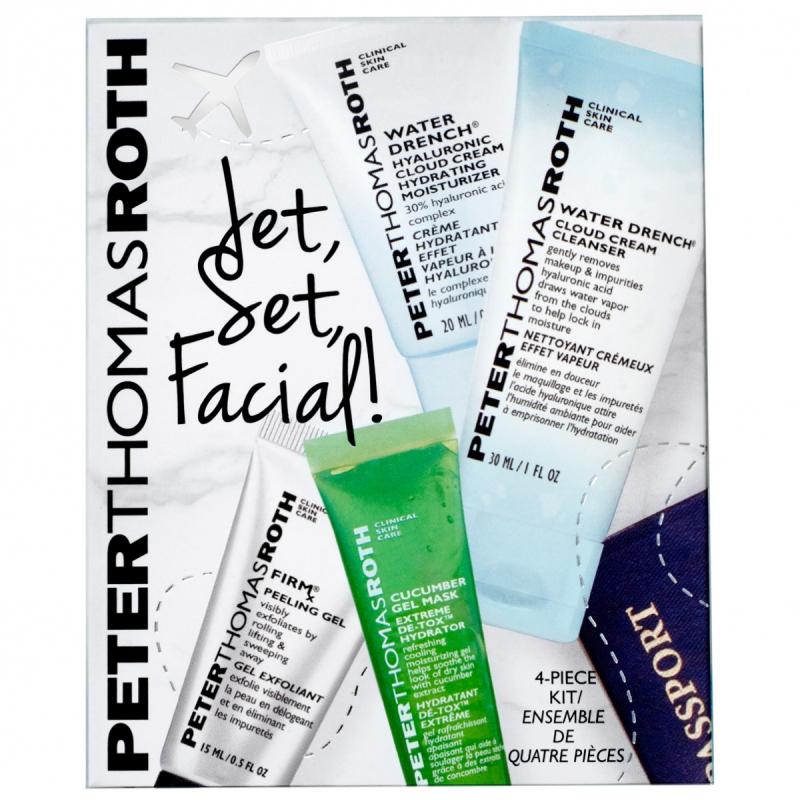 Peter Thomas Roth Jet Set Facial Kit i gruppen Hudvård / Gift set & kits / Gift sets hos Bangerhead (B050632)