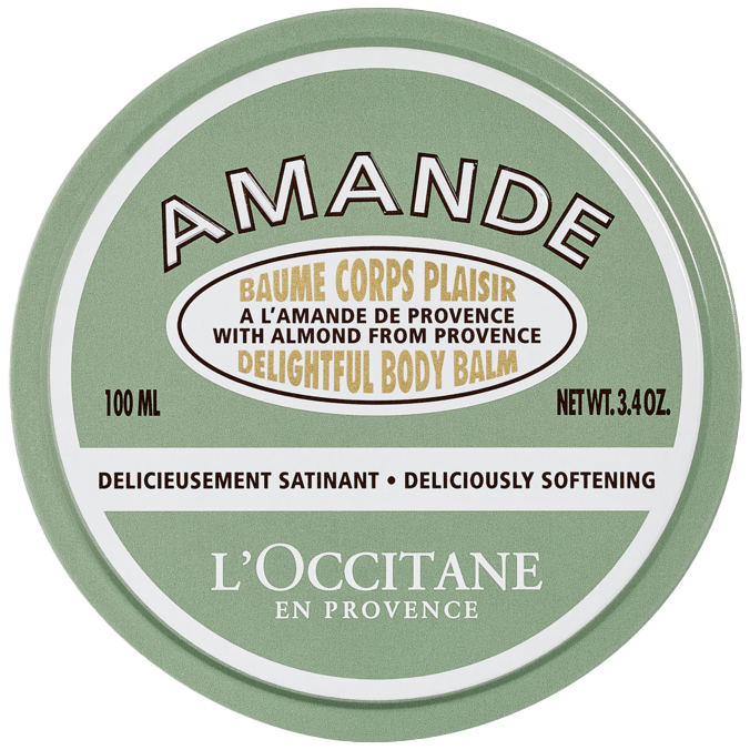 L'Occitane Almond Delightful Body Balm (100ml) i gruppen Kroppsvård & spa / Kroppsåterfuktning / Body lotion hos Bangerhead (B050657)