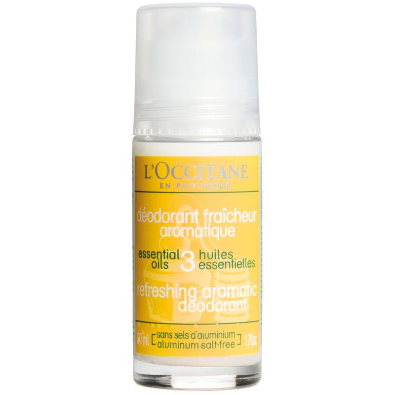 L'Occitane Aroma Purifying Roll-On Deo (50ml) ryhmässä Tuoksut / Naisten tuoksut / Deodorantit naisille at Bangerhead.fi (B050670)